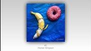 Холандски художник превръща банани в шедьоври!