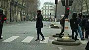 Палежи по улиците на Париж