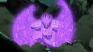 Sasukes Rinegan and Naruto Rikudou vs Uchiha Madara Six Paths Sage Mode