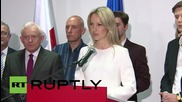 "Poland: Magdalena Ogorek says Poland not ""ready"" for a woman after election hammering"