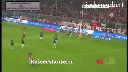Марио Гомез 30 гола в 3 минути