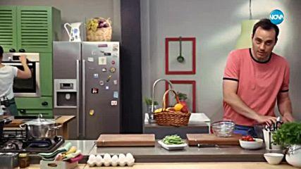 Салата от пресни картофи зелен фасул и аншоа - Бон Апети (17.05.2018)