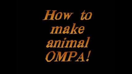 Как да имитираме 5 животни - котка, куче, патица, лъв, мечка