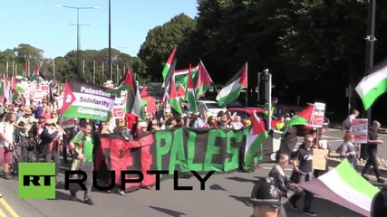 UK: Activists want Israel red carded from UEFA