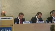 Switzerland: Gatilov touts importance of International Covenants