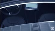 Един красив автомобил с джанти Vossen Tesla Model S