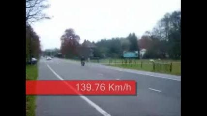 Скутер 139.76 Км/ч