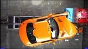 Mercedes Sls Amg 2010 - Краш тест!