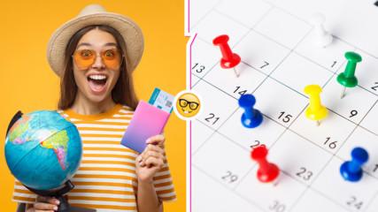 2020 г. вече е тук! Ето кои са нейните официални почивни дни + някои съвети за отпуска