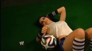 Wwe Divas celebrate the World Cup