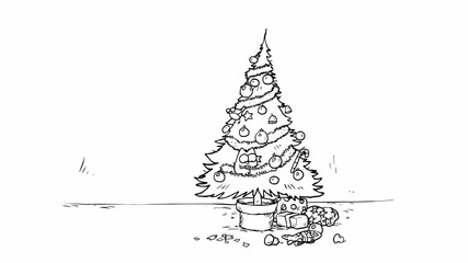 Simon's Cat във Santa Claws
