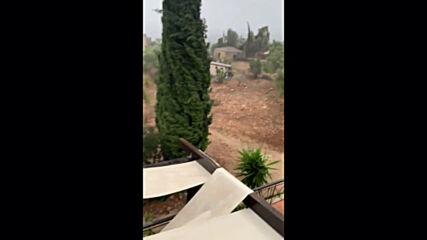 Greece: Rare Mediterranean cyclone 'Medicane' makes landfall
