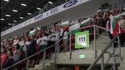 Българският химн и хиляди фенове в подкрепа на волейболистите