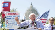 Bernie Sanders Condemns 'Starvation' Pay