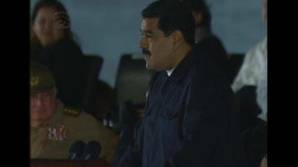 Cuba: 'Fidel, Hasta siempre!' Maduro pays homage to Castro at mass rally