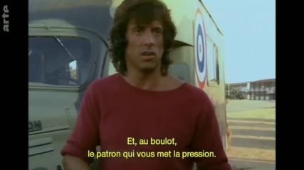 Силвестър Сталоун дава интервюта по време на снимките за Рамбо 2 и 3 (1985-1988)