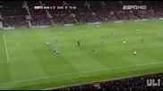 Ман. Юнайтед 3:0 Евертън (всички голове)