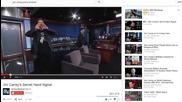 #86. Джим Кери Говори За Илюминати в шоуто на Джими Кимел!!