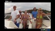 Тоя кой го е учил да управлява лодка