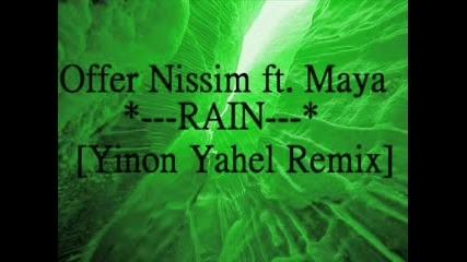 Offer Nissim Feat. Maya - Rain