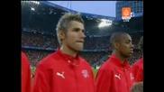 15.06 Швейцария - Португалия 2:0 Националните химни