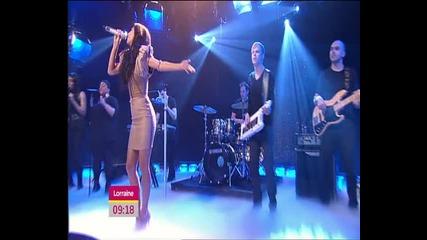 Nicole Scherzinger - Dont Hold Your Breath (lorraine March 8 2011 )