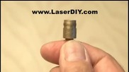 Как да направим горящ лазер от запалка