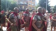 Римски легионери от 1ви век в Бургас