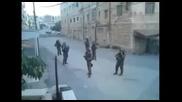 Soldiers Dancing to Kesha on Patrol in Hebron