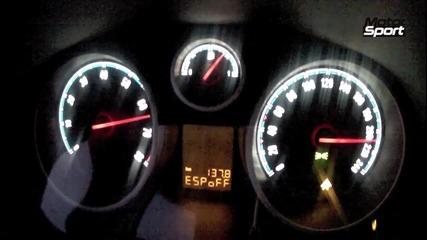 0-230 kmh Opel Corsa Opc