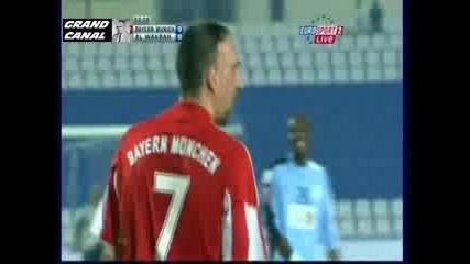 Франк Рибери носи футболист на конче.смях
