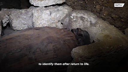 Dozens of ancient mummies discovered in Egypt's Minya