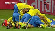 Фантастичен гол на Берг даде преднина на Швеция