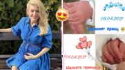 Честито! Ева Веселинова стана майка за първи път - и то на близнаци!