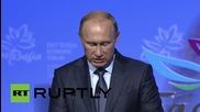 Russia: Putin talks Far East development at first Eastern Economic Forum