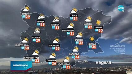 Прогноза за времето (11.07.2020 - обедна емисия)