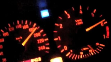 Bmw 328i E36 accelerating
