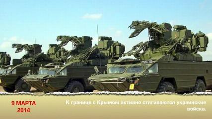 Връщането на Крим към Русия.