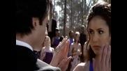 The Vampire Diaries Nina Dobrev & Ian Somerhalder - Dance