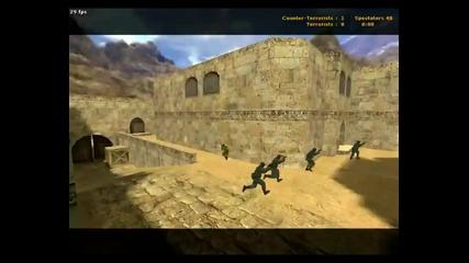 5 Ct Срещу 1 Terorrist смях Counter Strike 1.6