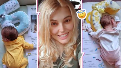 Християнски, красиви, традиционни! Ева Веселинова разкри имената на близнаците