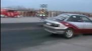 Audi 90 Quattro Turbo . Subaru Impreza