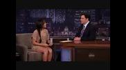 Vanessa Hudgens On Jimmy Kimmel Live Aug 5/2009