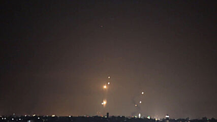 State of Palestine: Barrage of rockets launched at Israel from Gaza
