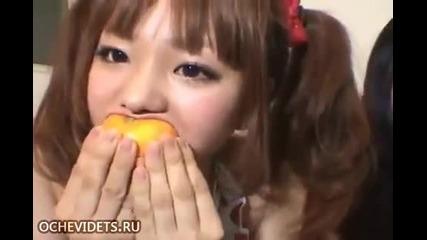 Как се хапва портокалче-смях