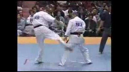 Karate Kyokushin Low Kick