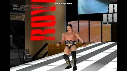 John Cena vs The Miz(wrestlemania 27) - Wwe Impact 2011 Pc