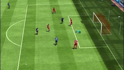 Феноменален гол на Ван Перси - Fifa 2013