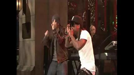 Eminem Feat Lil wayne - No love Live in Snl