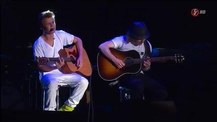 Justin Bieber - на живо в Mexico - част трета/5